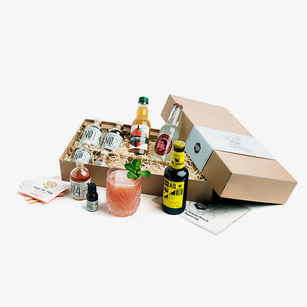 Gin und Tee Cocktail-Kit