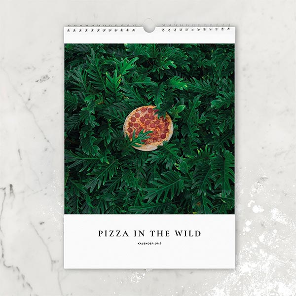 PIZZA IN THE WILD Kalender